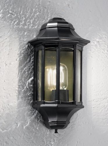 Franklite LA1610-1 Black Wall Light
